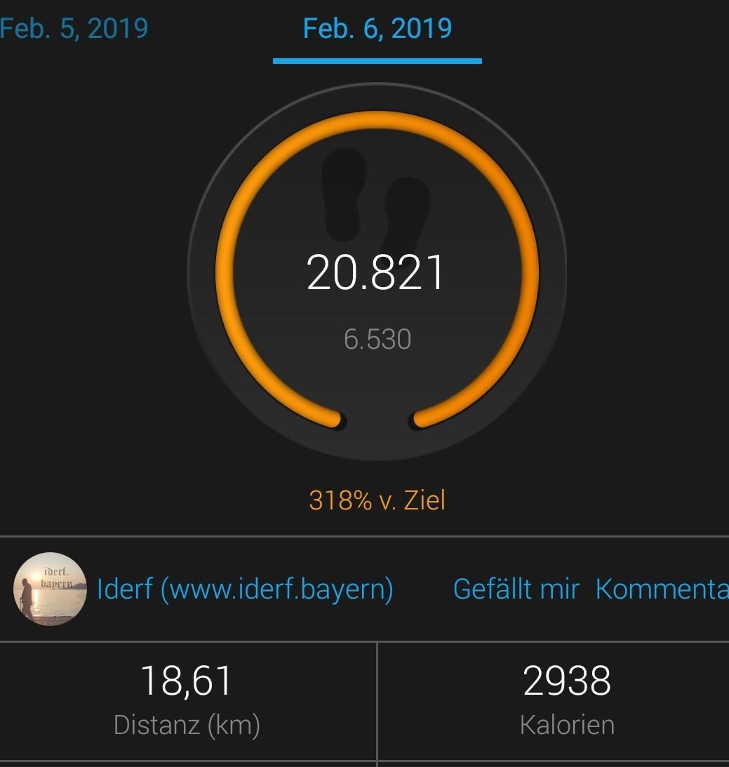 Tag 11 mit 88,7 kg / Streß
